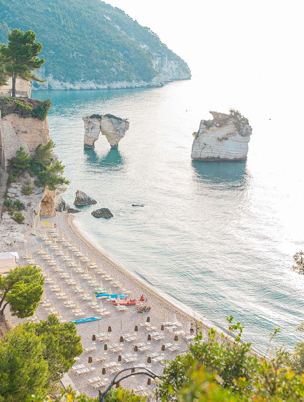Residence sul mare per vacanze a vieste residence for Vacanze a barcellona sul mare